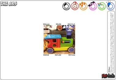 6Rs - toy train L