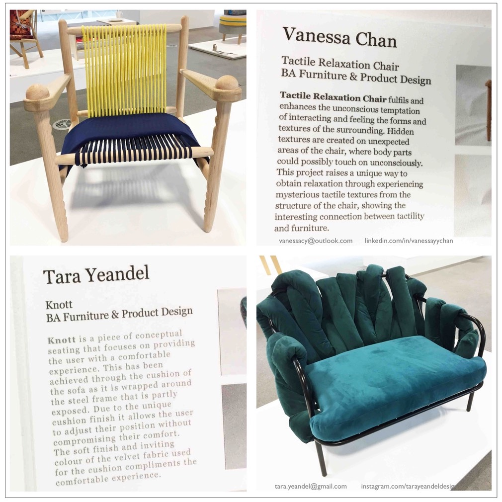 Furniture & Product Design BA Vanessa Chan Tara Yeandel copy