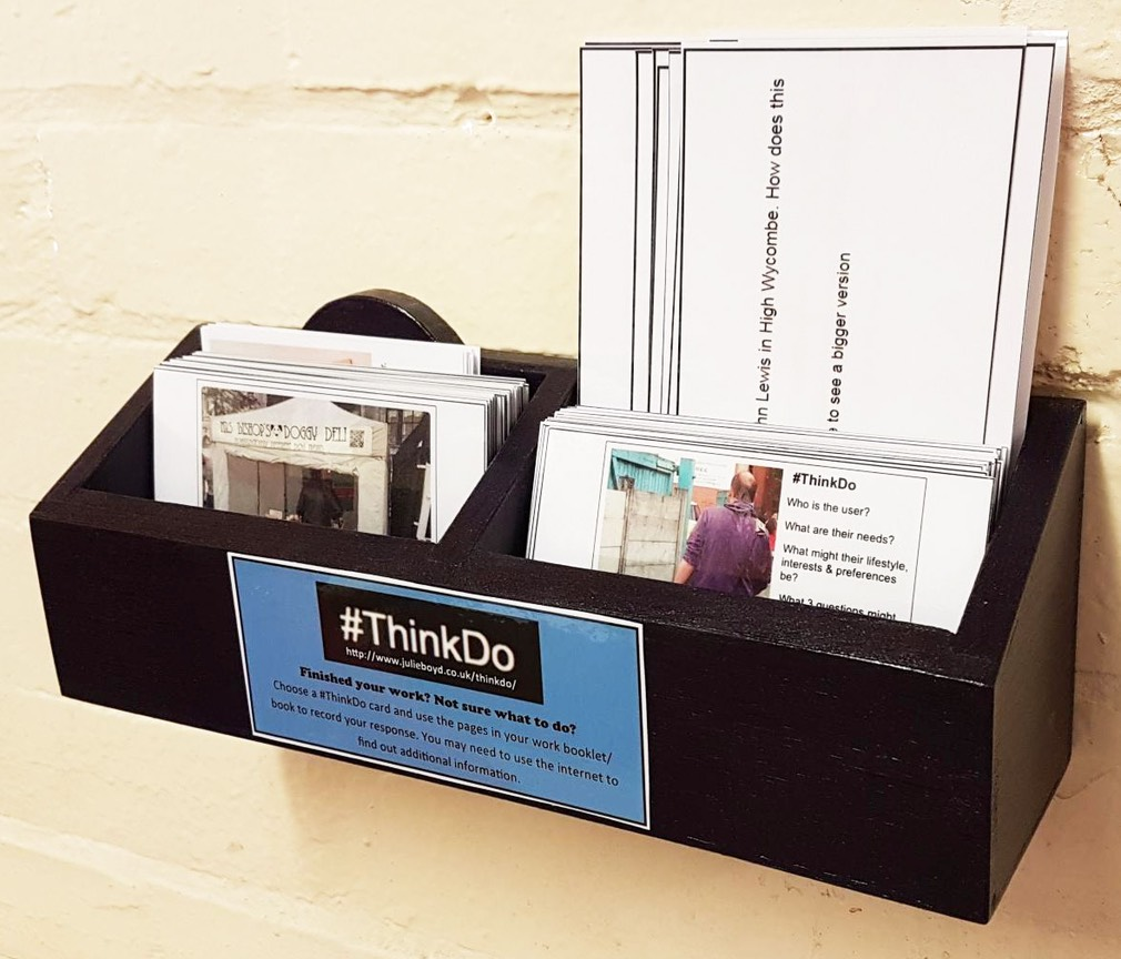 LL #ThinkDo box and cards