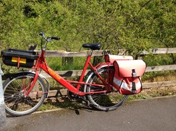 Royal mail bike